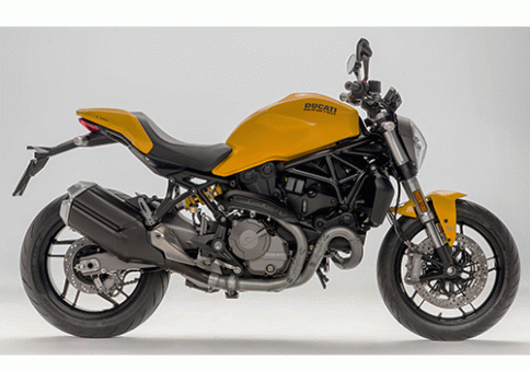 ดูคาติ Ducati Monster 821 Yellow/Black MY18 ปี 2018