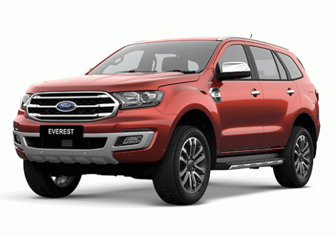 ฟอร์ด Ford Everest 2.0L Bi-Turbo Titanium+ 4X4 AT ปี 2019