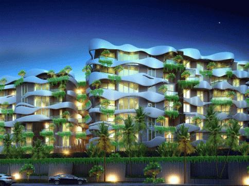 ดิ เอ็มเมอรัลด์ เซ็นทรัล คอนโดมิเนียม (The Emerald Central Condominium)