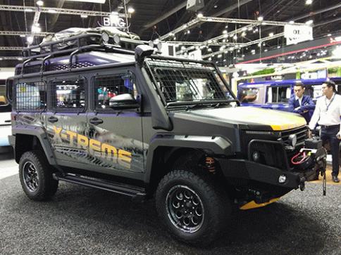 ไทยรุ่ง Thairung-Transformer II X-Treme 2.8 4WD MT-ปี 2018