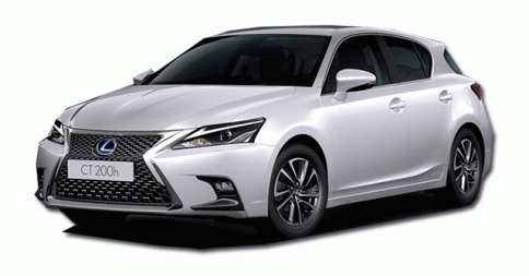 เลกซัส Lexus-CT200h Luxury Fabric MY17-ปี 2017