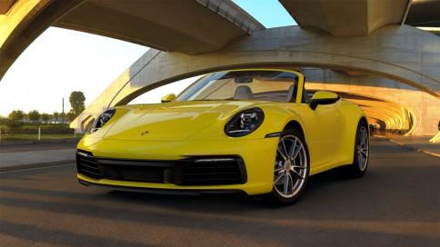 ปอร์เช่ Porsche 911 Carrera Carbriolet ปี 2019