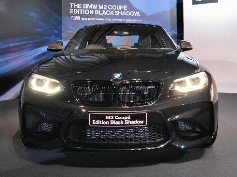 บีเอ็มดับเบิลยู BMW M2 Edition Black Shadow ปี 2018