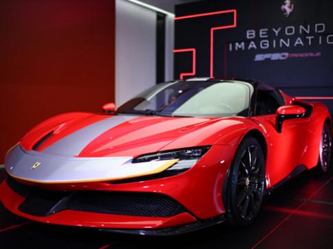 เฟอร์รารี่ Ferrari SF90 Stradale V8 ปี 2020