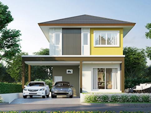 บ้านฉัตรหลวง โครงการ 10 อำเภอสามโคก - ปทุมธานี (Chatluang 10 Samcoke - Pathumthani)