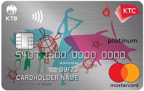 บัตรเครดิต KTC - YONGSANGUAN GROUP PLATINUM MASTERCARD-บัตรกรุงไทย (KTC)