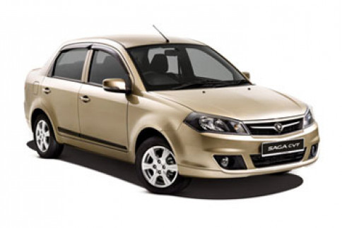โปรตอน Proton Saga Base Line CVT ปี 2012