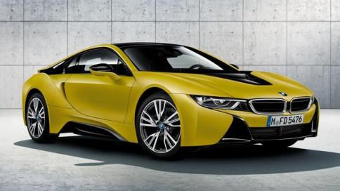 รูป บีเอ็มดับเบิลยู BMW-i8 Protonic Frozen Yellow-ปี 2017