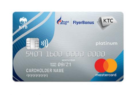 บัตรเครดิต KTC - BANGKOK AIRWAYS PLATINUM MASTERCARD-บัตรกรุงไทย (KTC)