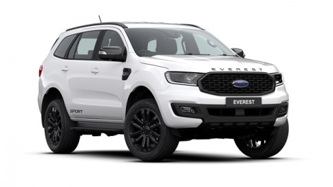 ฟอร์ด Ford Everest 2.0L Turbo SPORT 4x2 AT ปี 2019