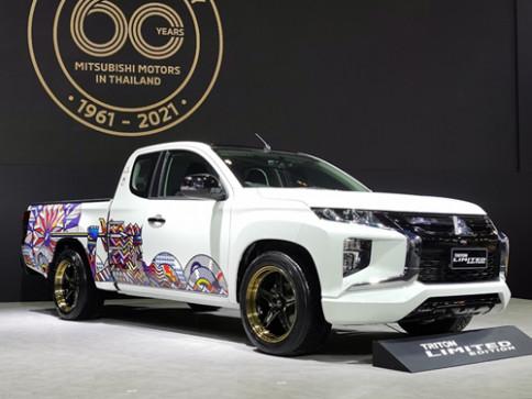 มิตซูบิชิ Mitsubishi Triton MEGA CAB RUKKIT Limited Edition ปี 2021