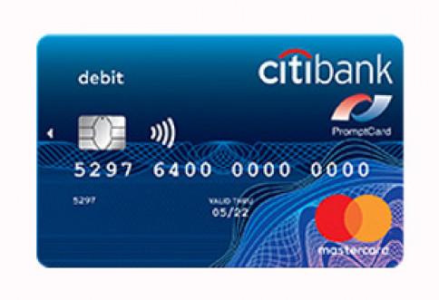 บัตรซิตี้แบงก์ เดบิต มาสเตอร์การ์ด-ธนาคารซิตี้แบงก์ (Citibank)