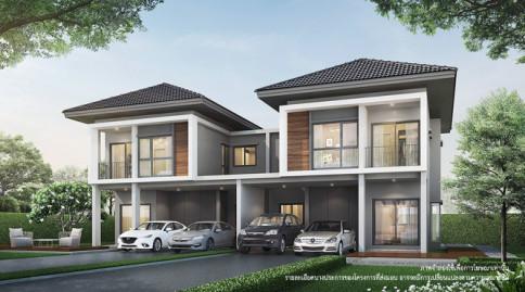 บ้านลุมพินี ทาวน์วิลล์ ลาดกระบัง - สุวรรณภูมิ (Baan Lumpini Town Ville Ladkrabang - Suvarnabhumi)