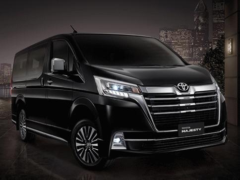 โตโยต้า Toyota Majesty 2.8 Premium ปี 2019