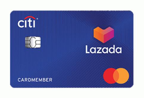 บัตรเครดิตซิตี้ ลาซาด้า-ธนาคารซิตี้แบงก์ (Citibank)