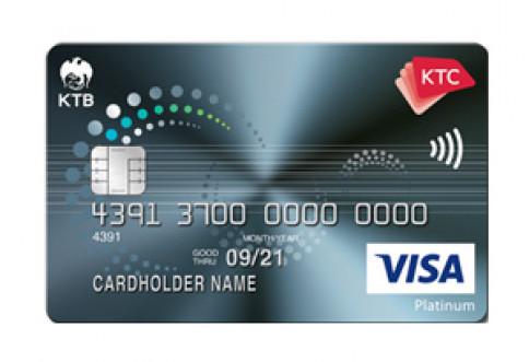 บัตรเครดิต KTC Senior Visa Platinum-บัตรกรุงไทย (KTC)