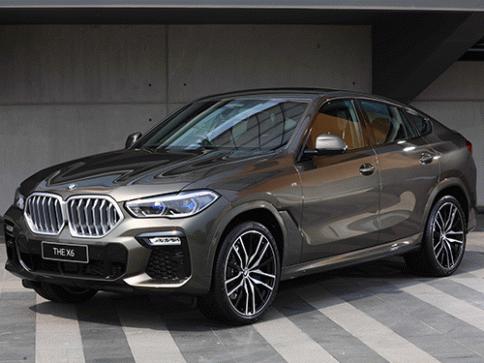 บีเอ็มดับเบิลยู BMW X6 xDrive30d M Sport MY2020 ปี 2020