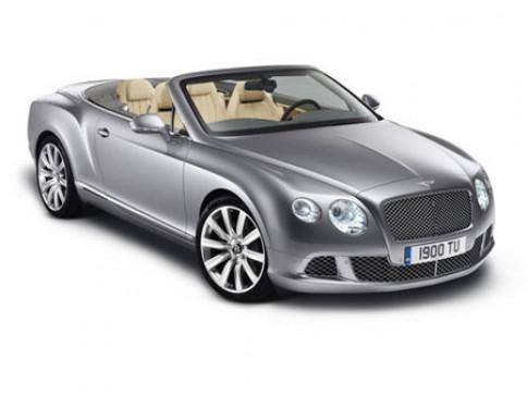 เบนท์ลี่ย์ Bentley Continental GT W12 Convertible ปี 2012