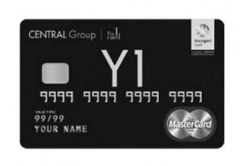 บัตรเครดิต เซ็นทรัล เดอะวัน เดอะแบล็ค (Central The 1 The Black Credit Card)-เซ็นทรัล เดอะวัน  (Central The 1)