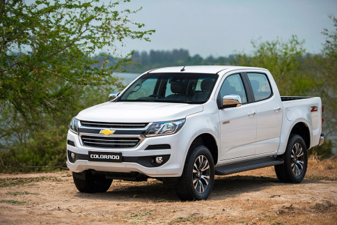 เชฟโรเลต Chevrolet-Colorado C-Cab 2.5 LT Z71 A/T-ปี 2016
