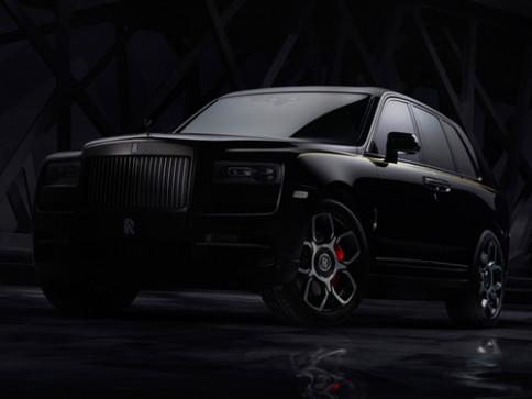 โรลส์-รอยซ์ Rolls-Royce-Cullinan Black Badge-ปี 2020