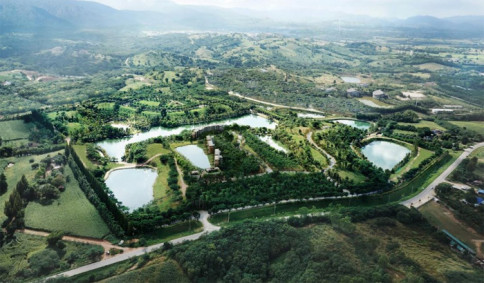 รูป สวอนเลค เขาใหญ่ (Swan Lake Khao Yai)