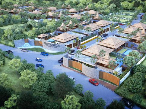 โบทานิก้า ลัคชัวรี่ วิลล่า เฟส 3 (Botanica Luxury Villas Phase 3)