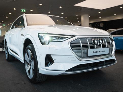 อาวดี้ Audi e-tron 55 quattro 2019 ปี 2019