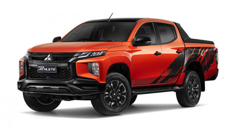 มิตซูบิชิ Mitsubishi-Triton Double Cab 4WD ATHLETE AT-ปี 2020
