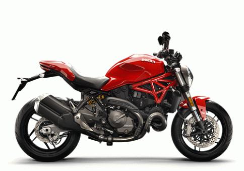 ดูคาติ Ducati Monster 821 Red MY18 ปี 2018