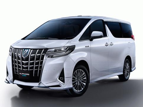 โตโยต้า Toyota-Alphard 2.5 Hybrid MY2020-ปี 2020