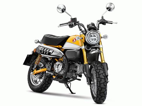 ฮอนด้า Honda Monkey 125 ปี 2018