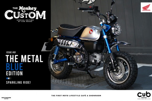 ฮอนด้า Honda-Monkey THE METAL BLUE EDITION-ปี 2020