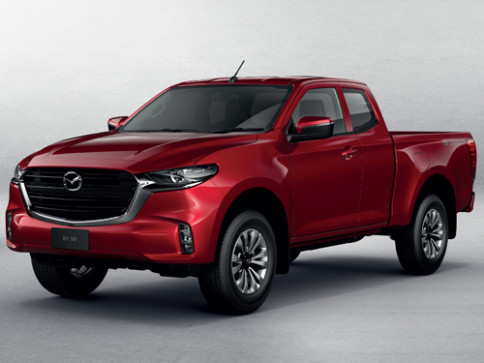มาสด้า Mazda BT-50 Freestyle Cab 1.9 C Hi-Racer 6AT ปี 2021