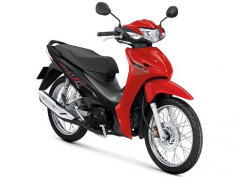 ฮอนด้า Honda Wave 110i สตาร์ทมือ ดิสก์เบรก ล้อซี่ลวด 2021 ปี 2021