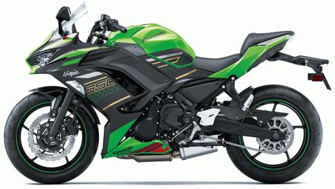 คาวาซากิ Kawasaki Ninja 650 ปี 2021