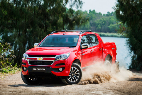 เชฟโรเลต Chevrolet Colorado High Country 2.5 VGT 4X4 A/T ปี 2016