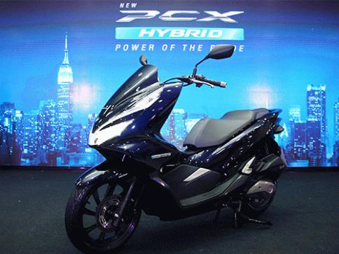 รูป ฮอนด้า Honda-PCX Hybrid-ปี 2018