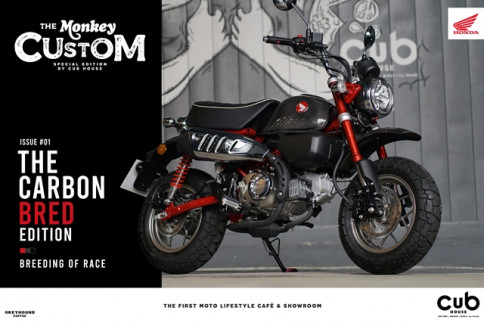 ฮอนด้า Honda Monkey THE CARBON BRED EDITION ปี 2020