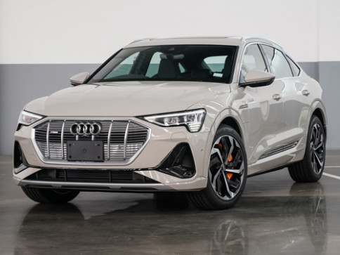 อาวดี้ Audi-e-tron tron Sportback 55 quattro S line-ปี 2020