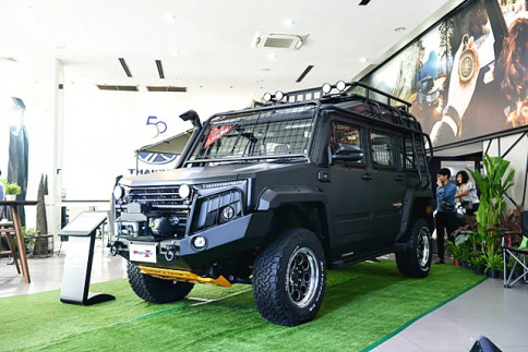 ไทยรุ่ง Thairung Transformer II X-Treme 2.8 4WD AT ปี 2018