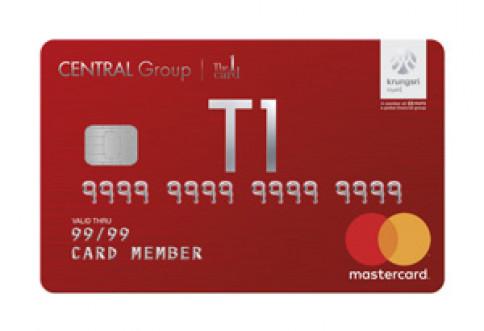 บัตรเครดิต เซ็นทรัล เดอะวัน เรดซ์ (Central The 1 REDZ Credit Card)-เซ็นทรัล เดอะวัน  (Central The 1)