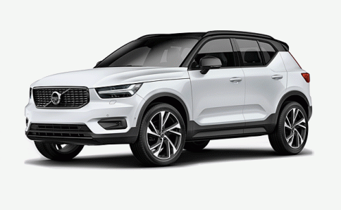 วอลโว่ Volvo XC40 T4 Momentum with White Roof ปี 2018