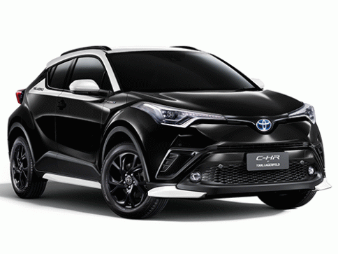 โตโยต้า Toyota-C-HR Karl Lagerfeld Limited Edition-ปี 2020