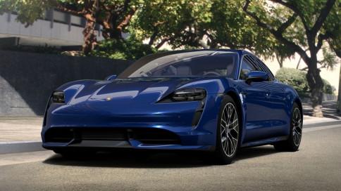 ปอร์เช่ Porsche-Taycan Turbo-ปี 2020
