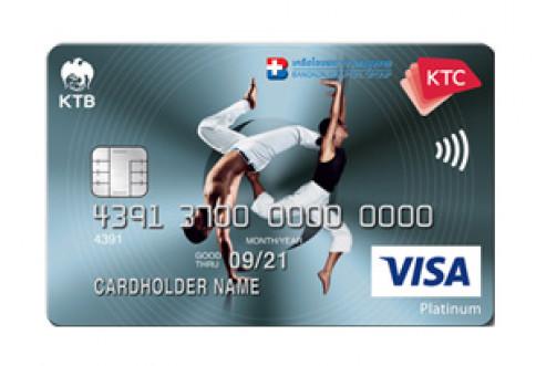 บัตรเครดิต KTC - Bangkok Hospital Group Visa Platinum-บัตรกรุงไทย (KTC)