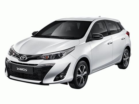 โตโยต้า Toyota Yaris High ปี 2019