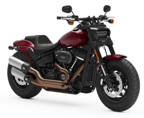 ฮาร์ลีย์-เดวิดสัน Harley-Davidson-Softail Fat Bob 114-ปี 2021