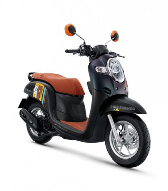ฮอนด้า Honda Scoopy i LINE FRIENDS Special Edition ปี 2019