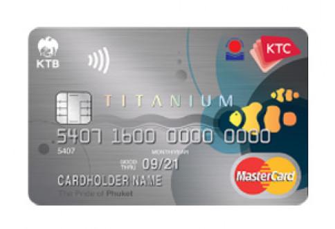 บัตรเครดิต KTC - Ocean Group Titanium MasterCard-บัตรกรุงไทย (KTC)